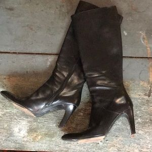 Via Spiga Shoes - Via Spiga Stiletto Leather Heel Boots